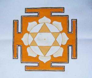 Saraswati-Yantra