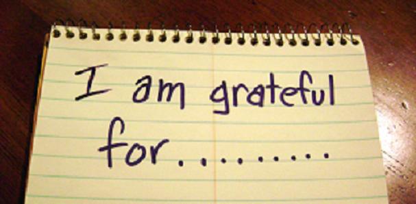 Gratitude matters (rocks!)